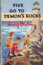 Dustjacket of Five Go to Demon's Rocks