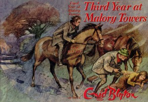 Third Year at Malory Towers, dustjacket by Lillian Bouchanan