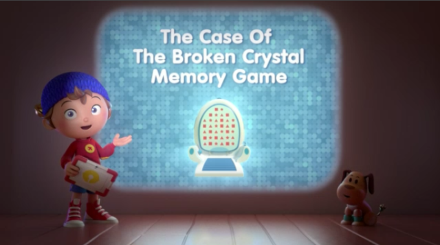 The Case Of Broken Crystal Memory Game