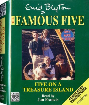 five on a treasure island audio