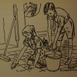 cleaning the summer house treasure hunters
