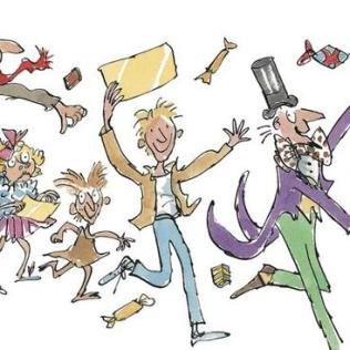 willy wonka quentin blake