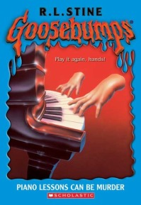 goosebumps piano lessons can be murder r l stine