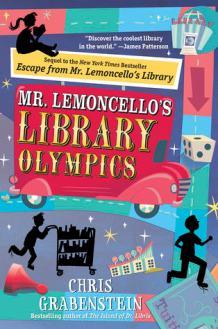 mr lemoncello's library chris gabenstein