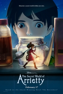 secret world of arriety the borrowers anime