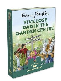 five lose dad in the garden centre jigsaw