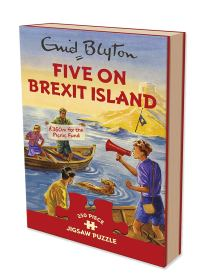 five on brexit island jigsaw