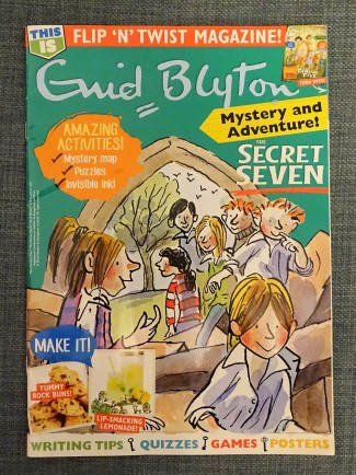 this is enid blyton magazine