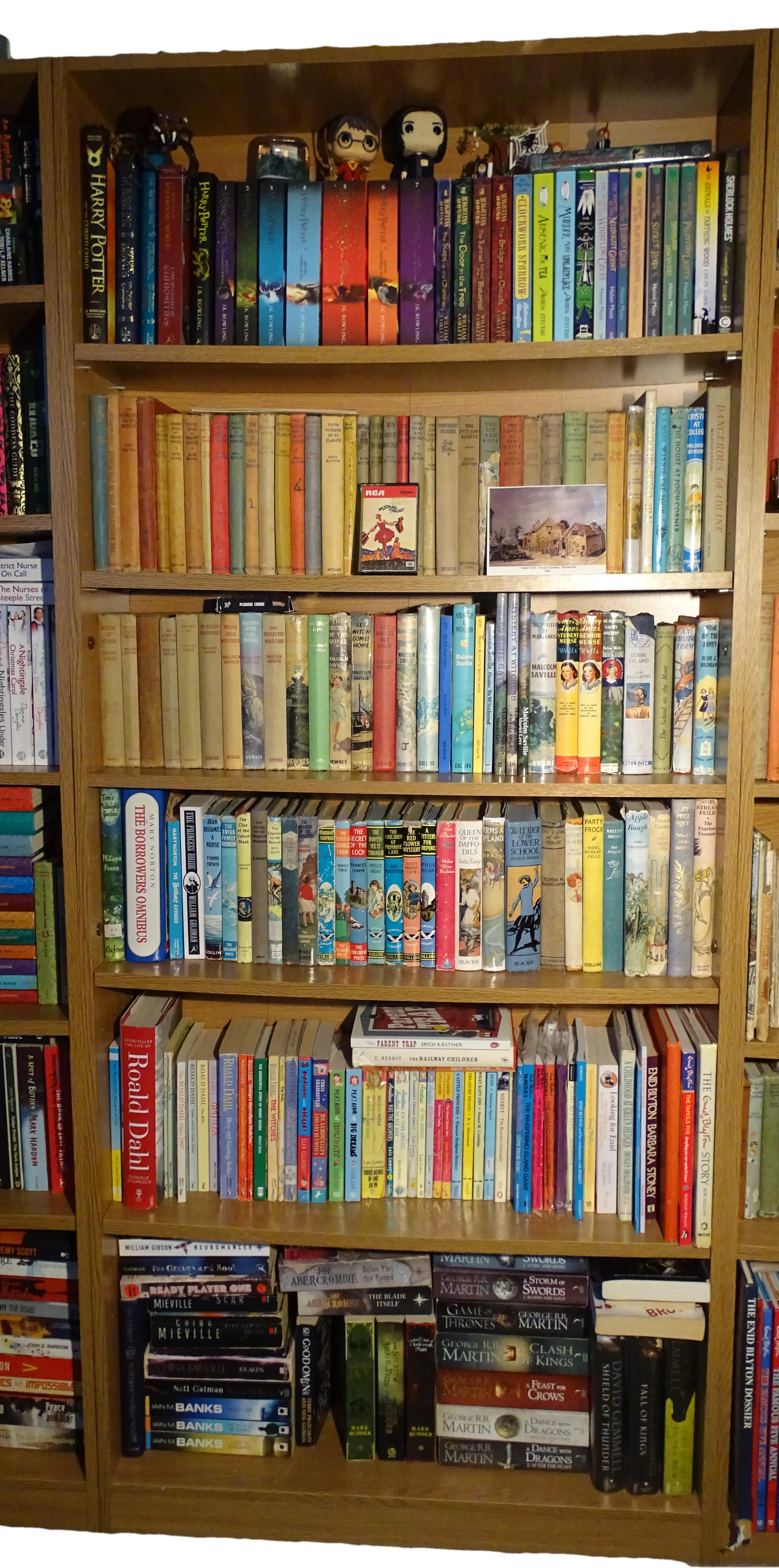 On My Bookshelf World Of Blyton