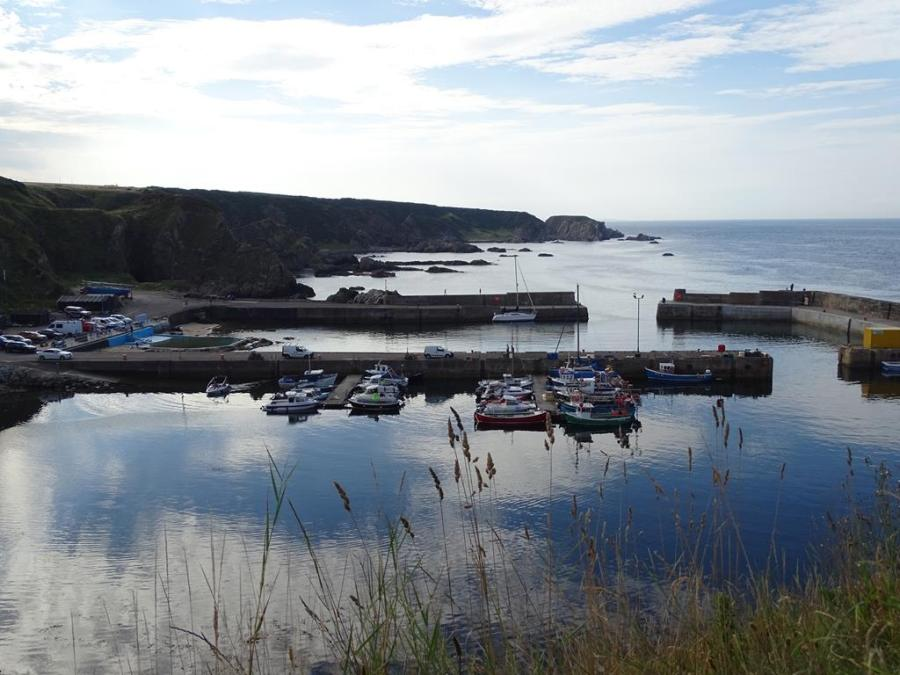 Portknockie harbour