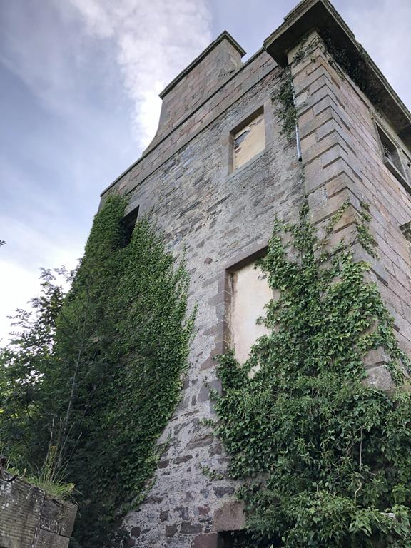 ruins of glassaugh house